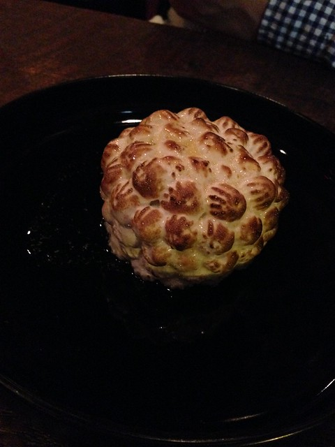 Baked Alaska at Root, New Orleans