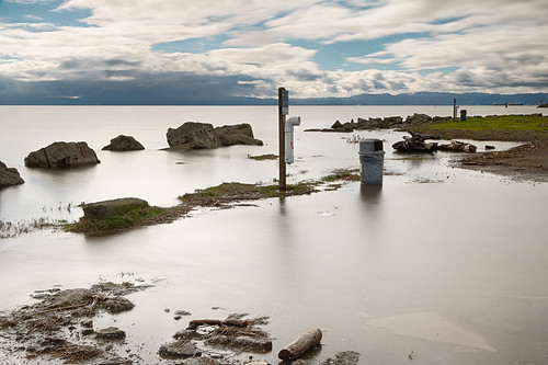 King Tide Floods Crab Cove in Alameda | by Ron Rothbart