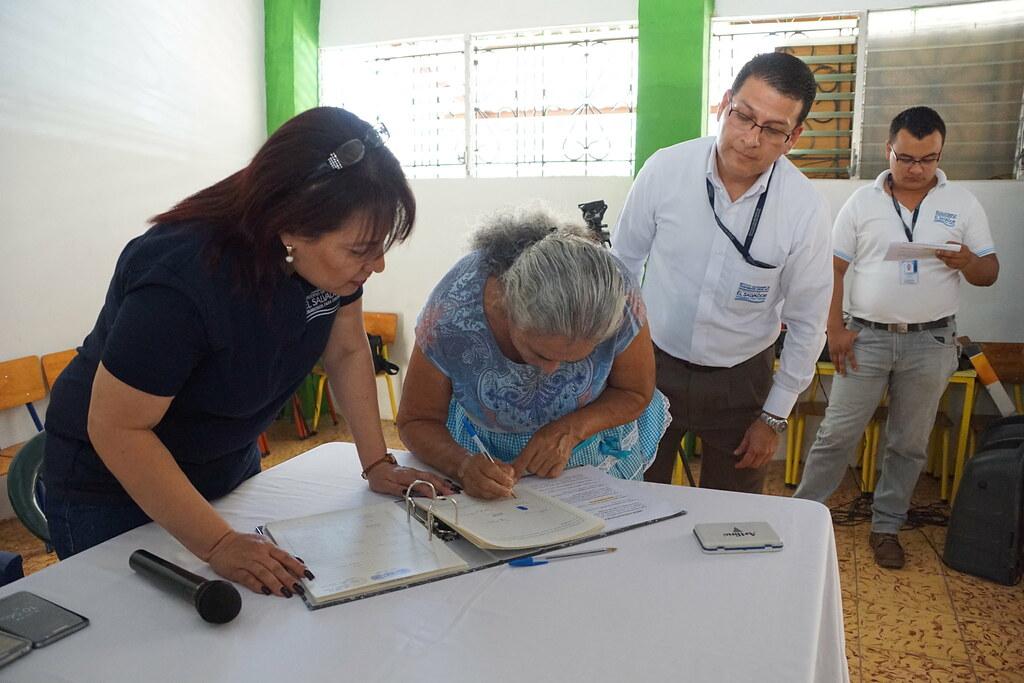 Familias de Nueva Gualcho firman rompimiento de proindiviso