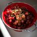 Grapes in Colander