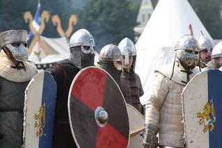 Kämpfer der Ritterschaft auf dem Cave Gladium