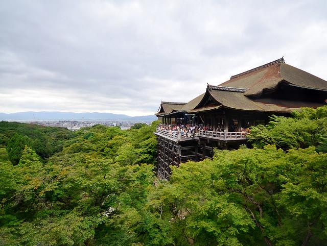 Templo Kiyomizu-dera de Kioto
