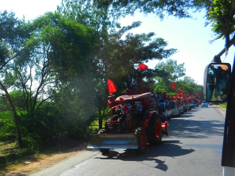 Бирманский автомайдан
