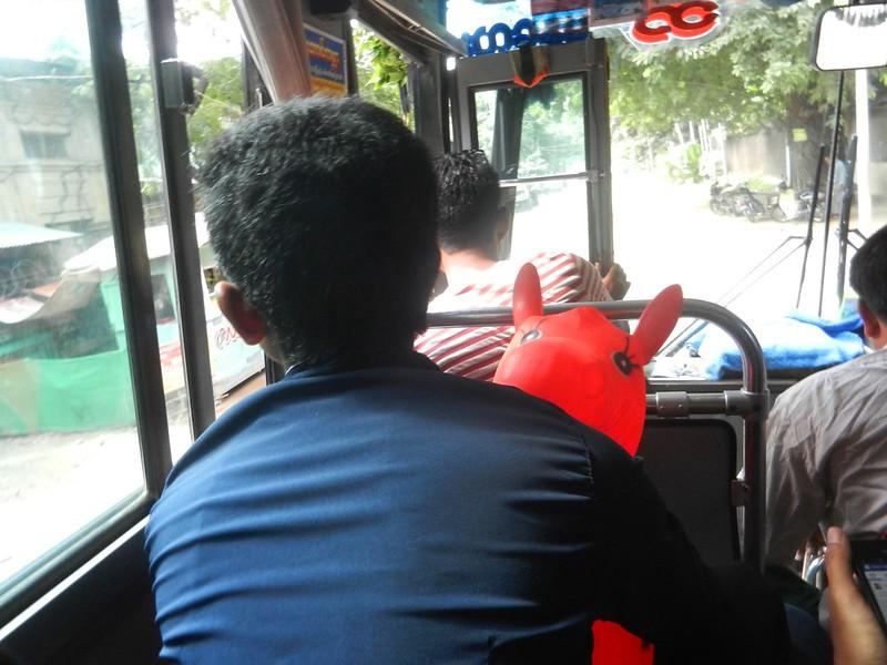 Автобусы в Мьянме