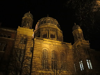 Berlin Synagoge by night | by Anetq
