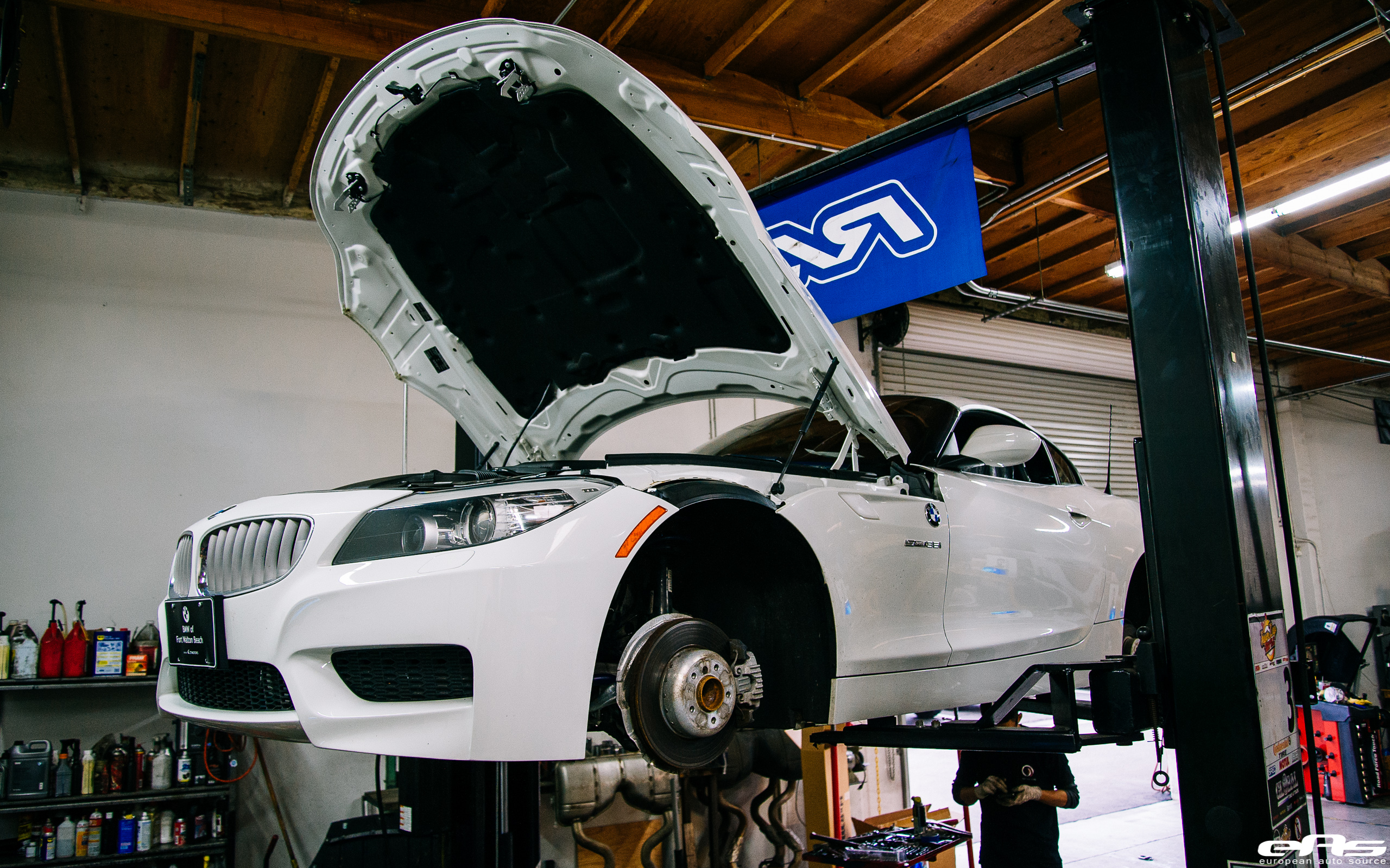 E89 Z4 Gets Some M Dna Bmw Performance Parts Services