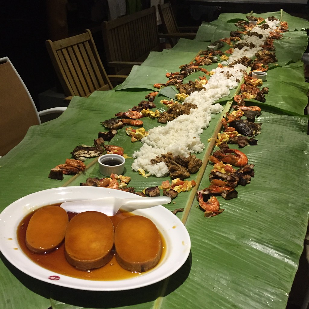 It was boodle fight after the runs.