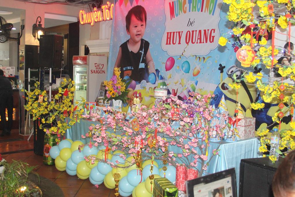 Mừng thôi nôi Huy Quang
