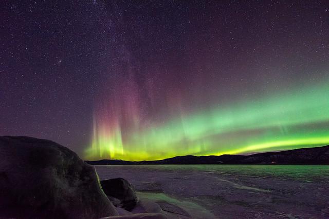 Milky Way Aurora