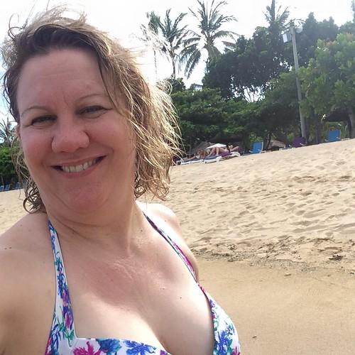 bikini at beach
