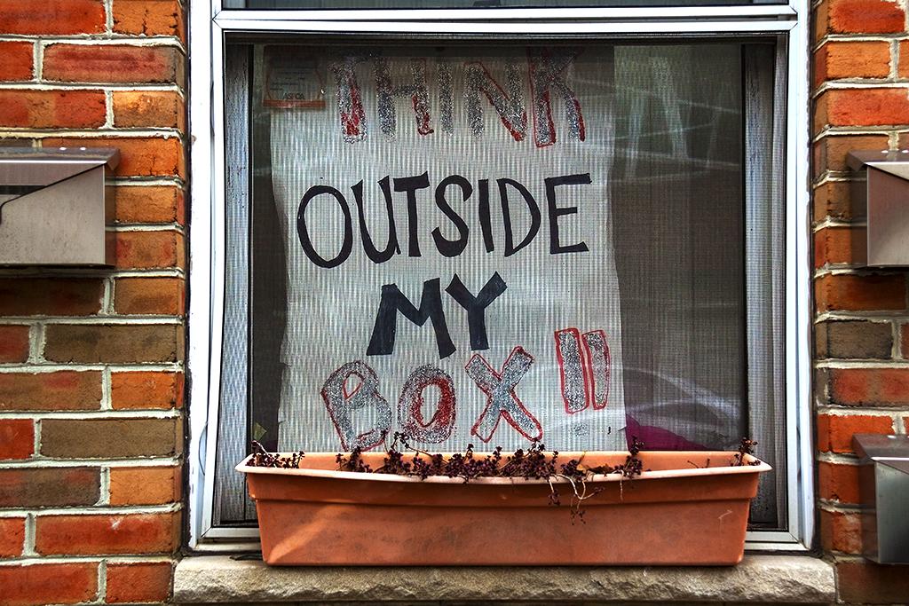THINK OUTSIDE MY BOX--Bella Vista
