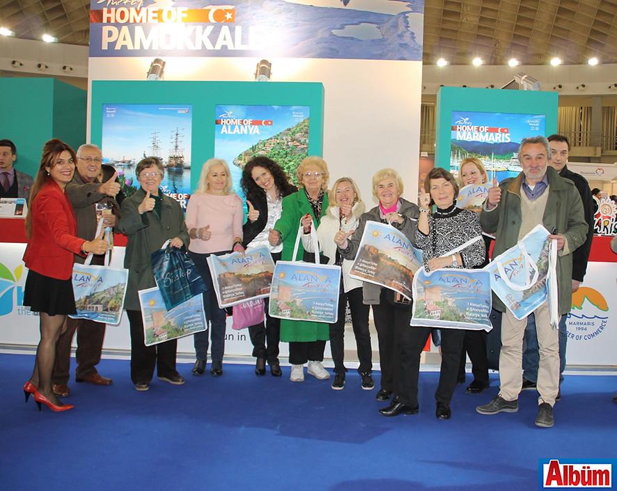 Tanıtımda Alanya Farkı ( Uluslararası Belgrad Turizm Fuarı)13