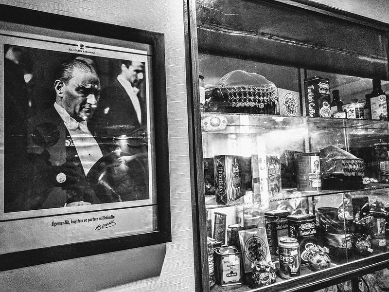 土耳其國父-凱末爾肖像