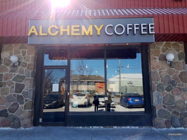 Alchemy Coffee Markham storefront