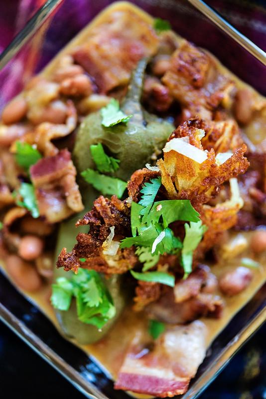 slow cooker chuckwagon beans and potatoes #simplypotatoes