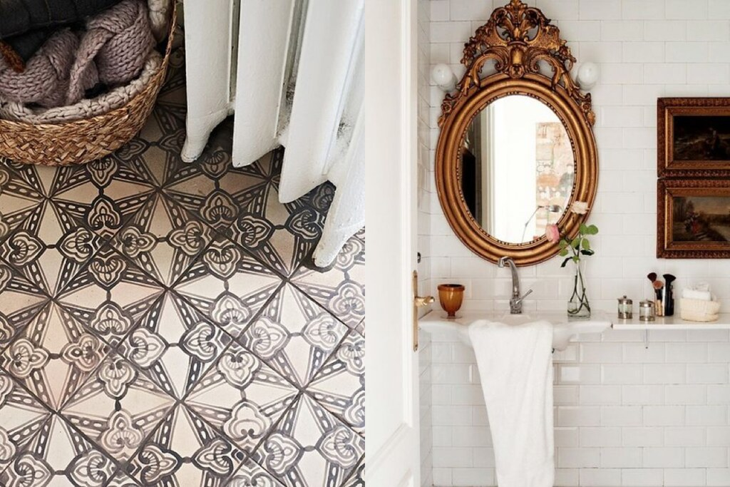 Rustic And Bohemian Bathroom Inspiration For Lovefromberlin Found