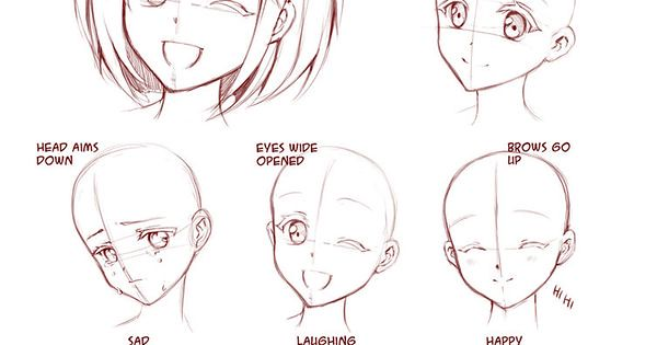 Liked On Pinterest Learn Manga Emotions By Naschi DeviantART How To