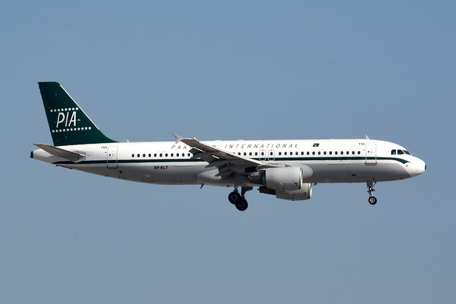 Pakistan International Airlines AP-BLT
