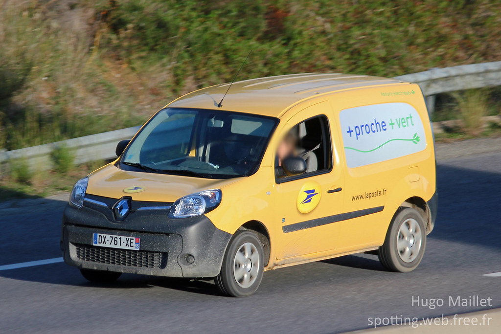 la poste renault kangoo ze infos v hicule de livraison flickr. Black Bedroom Furniture Sets. Home Design Ideas