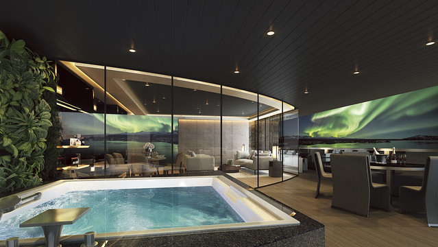 Eclipse Owner's Penthouse Suite Terrace