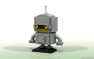 Bender BrickHeadz | by atomicdave1970