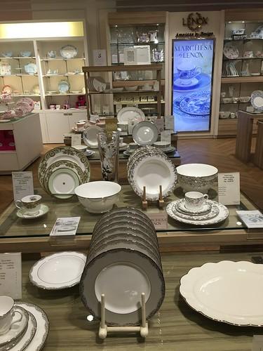Lenox dinner plates,  Rustan's