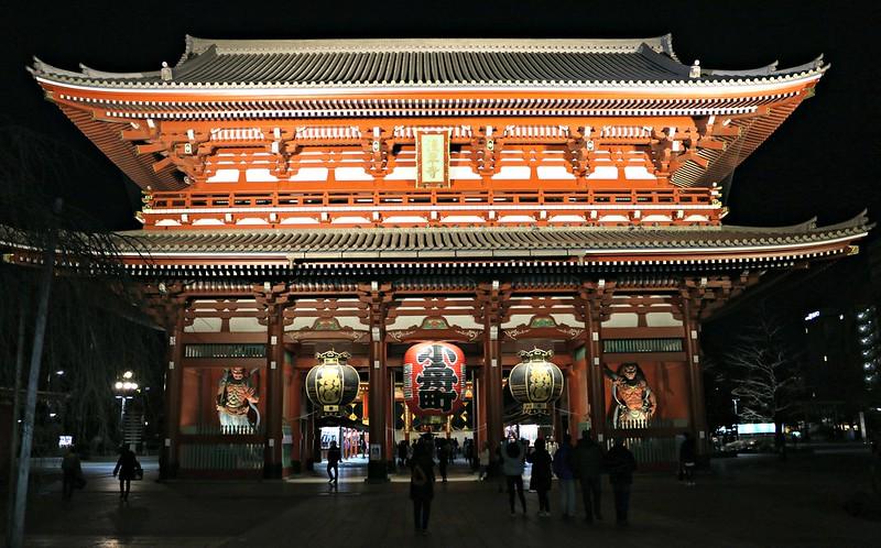 Sensoji Temple - O que ver em Tóquio