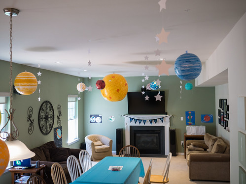hang up solar system ceiling - photo #24