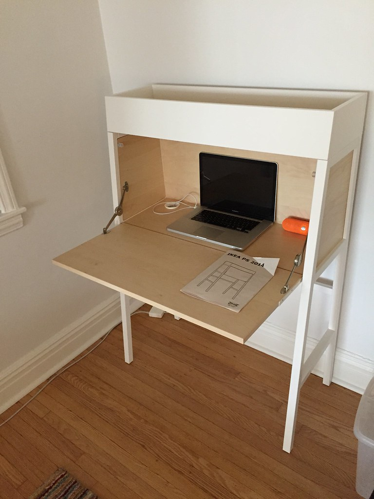 ikea ps 2014 secretary desk | i bought this desk! reviewed h… | flickr