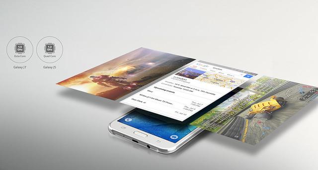 Samsung Galaxy J5 có hiệu suất mạnh mẽ
