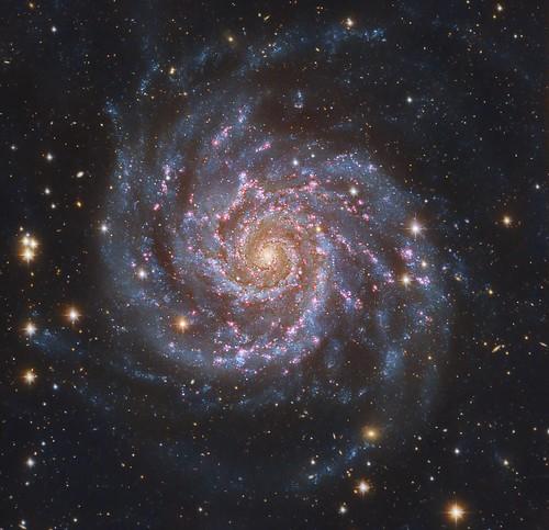 VCSE - Mai kép - Messier 74 a tökéletes spírálgalaxis