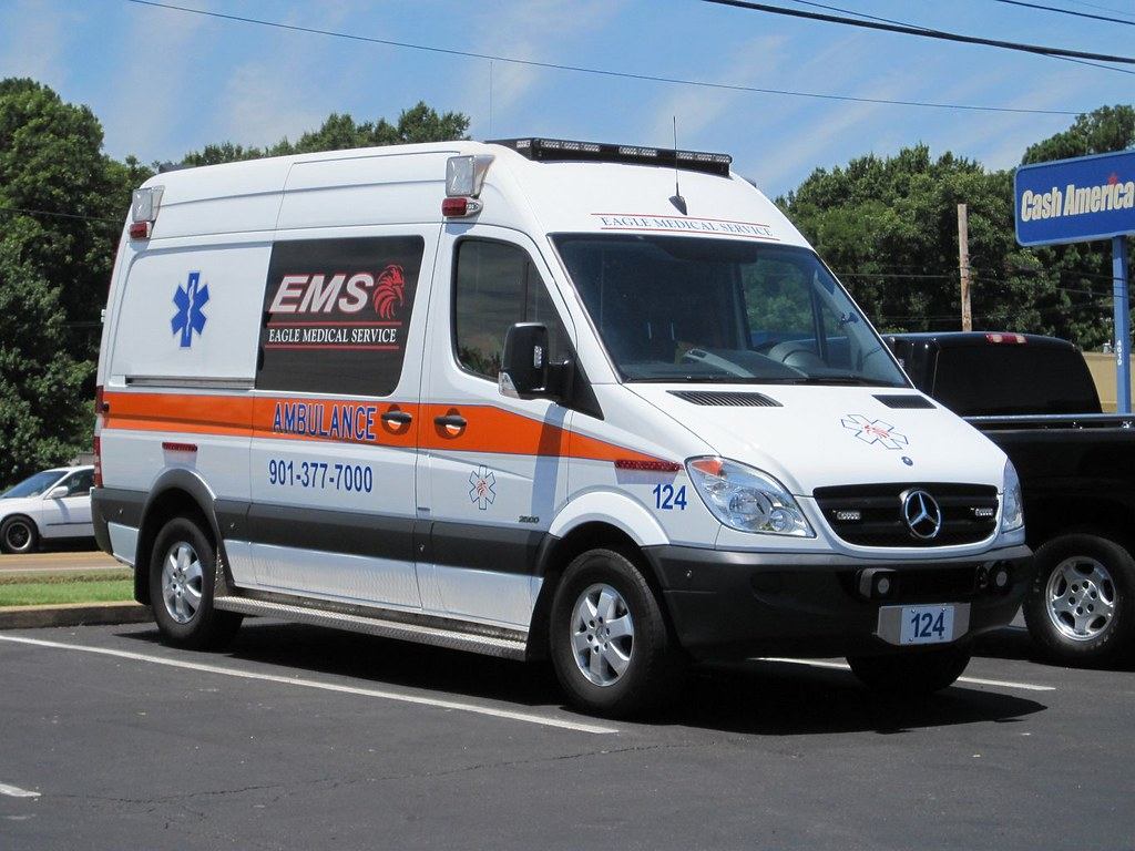 Tennessee ambulance mercedes benz sprinter 2500 high for Mercedes benz emergency service