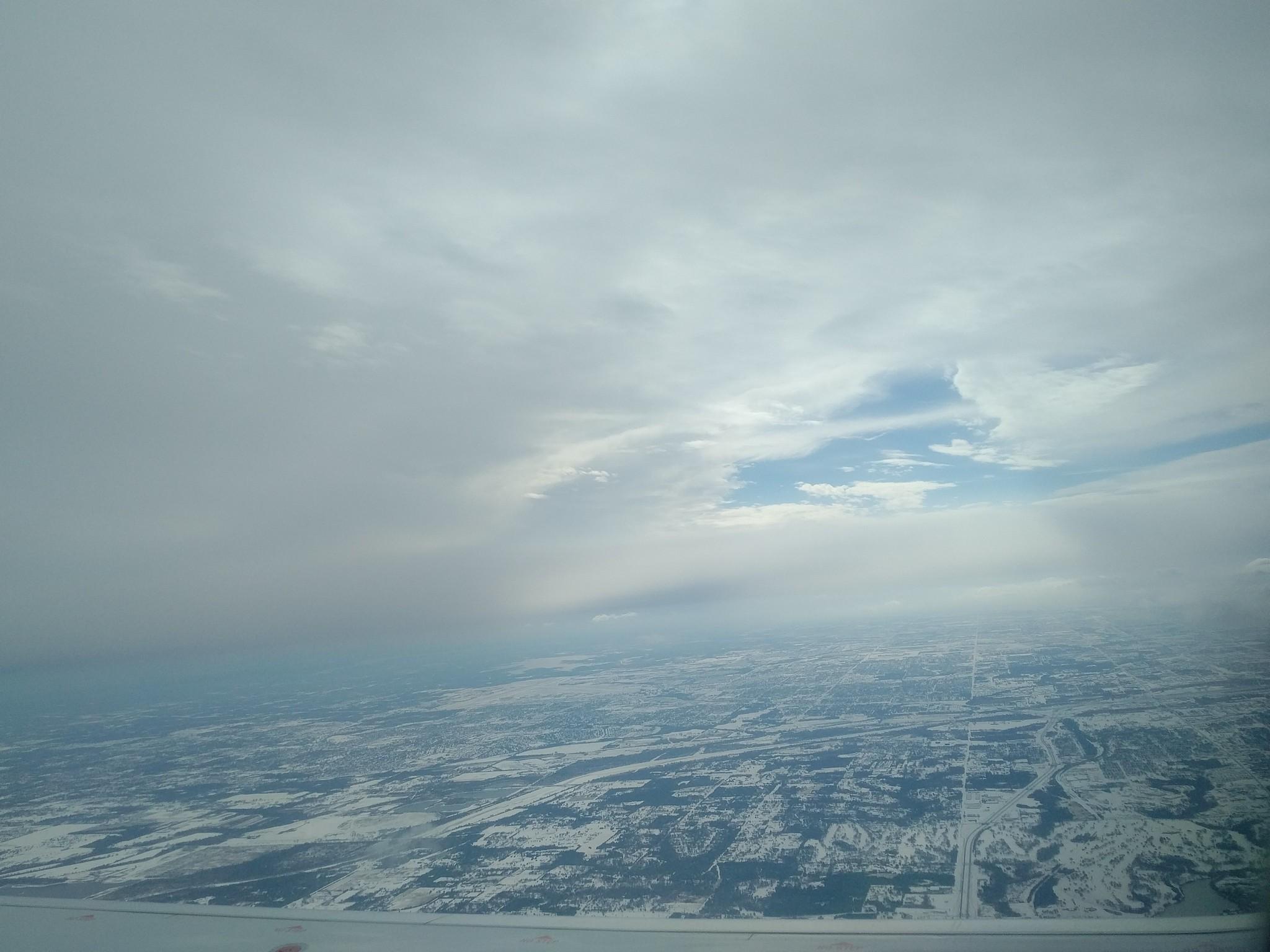 Snow Covered OKC
