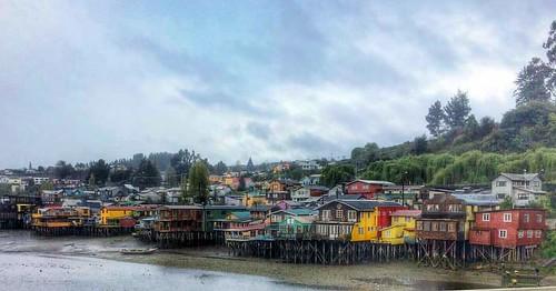 Visiting Muelle de Las Armas, Chiloé