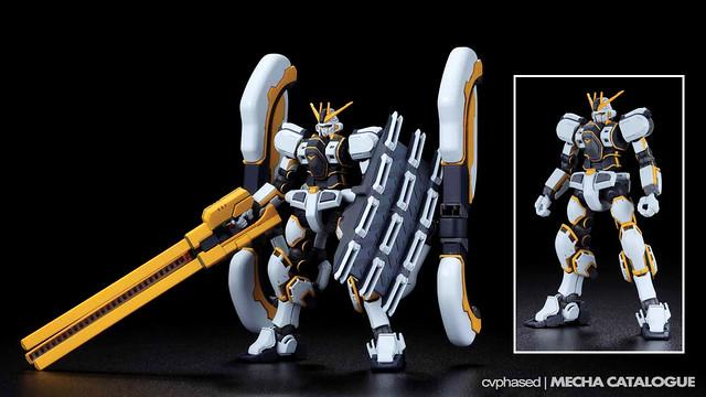 HG Atlas Gundam - Colored Prototype Shots