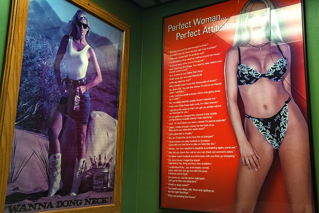 Perfect Woman Perfect Attitude poster at Dexter Pub--Dexter