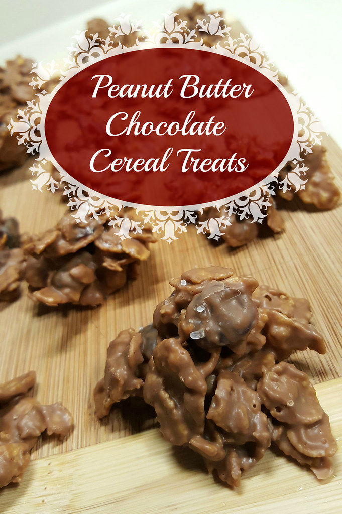 peanut butter chocolate cereal treats