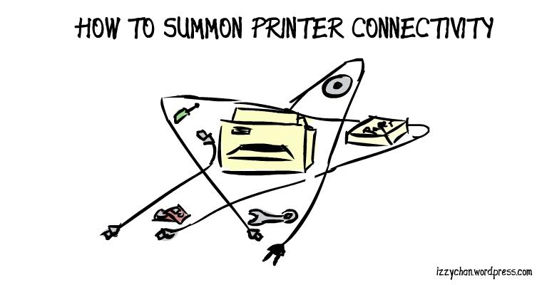 printer dark ritual