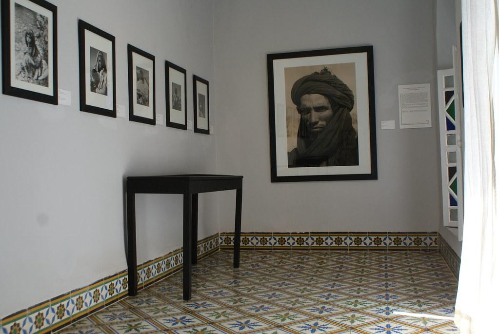 Une des salles de la Maison de la photographie à Marrakech.