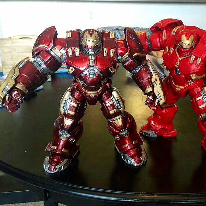 Iron Man Painted Cakes