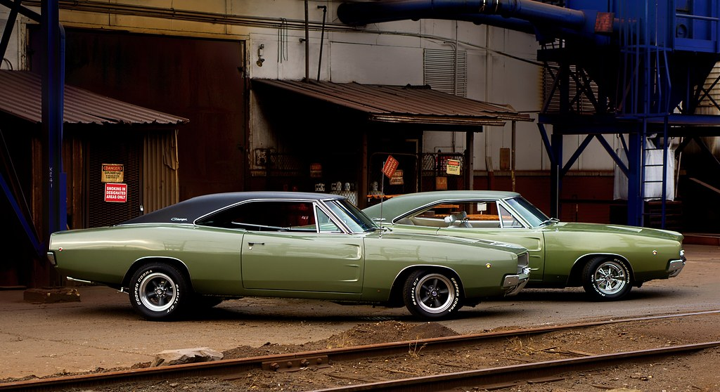 1968 Dodge Charger R T Seeing Double Ii Michael Kohl