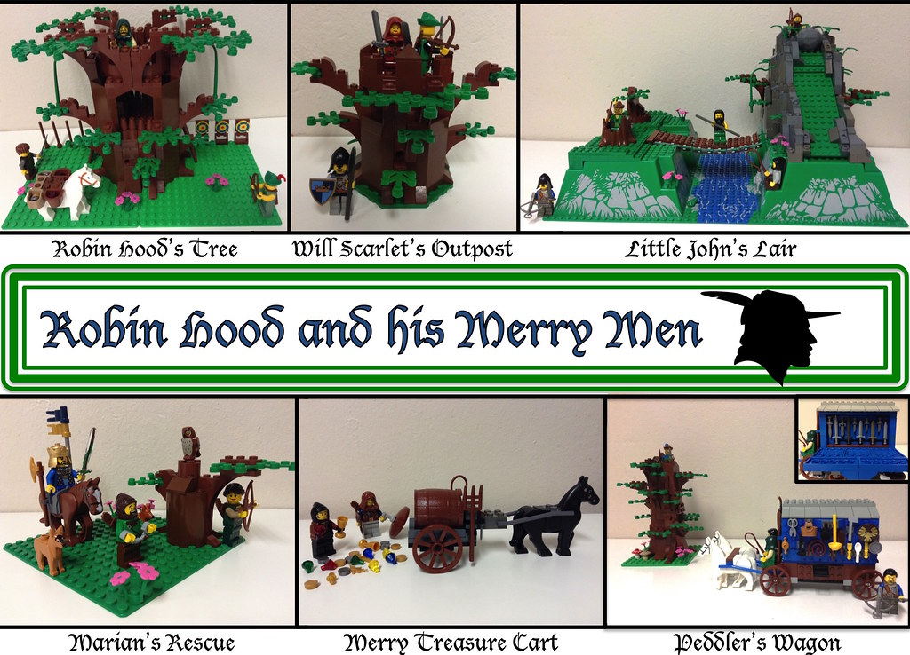 Instructions For Lego Ideas Projects For Any Of My Robin H Flickr
