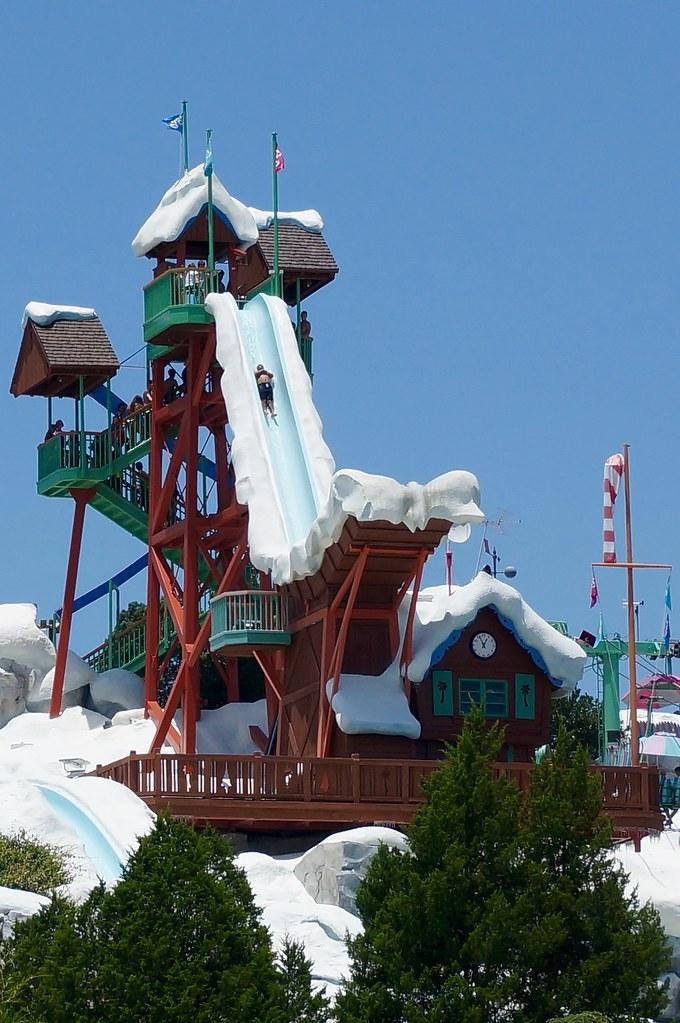 Summit Plummet Blizzard Beach Florida
