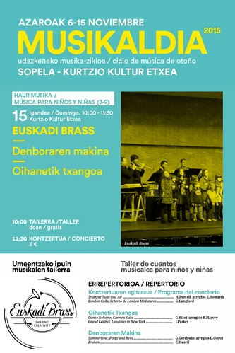 """Euskadi Brass Sopela 2015"