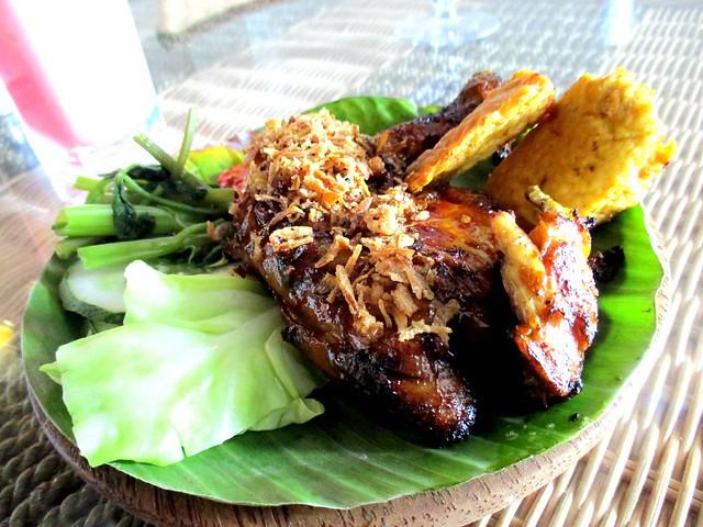 Ayam Penyat Ria, Sibu ayam bakar 1