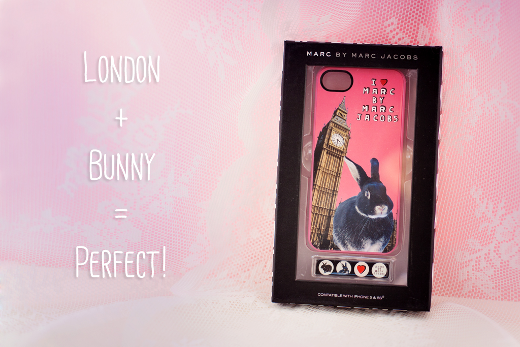 Bunny + London = Perfect! @ foreverpetite.net