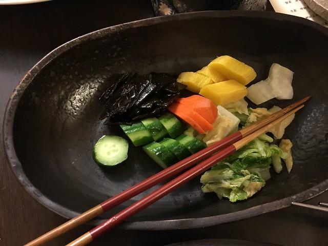 看起來很清淡但其實超鹹的自製醃菜