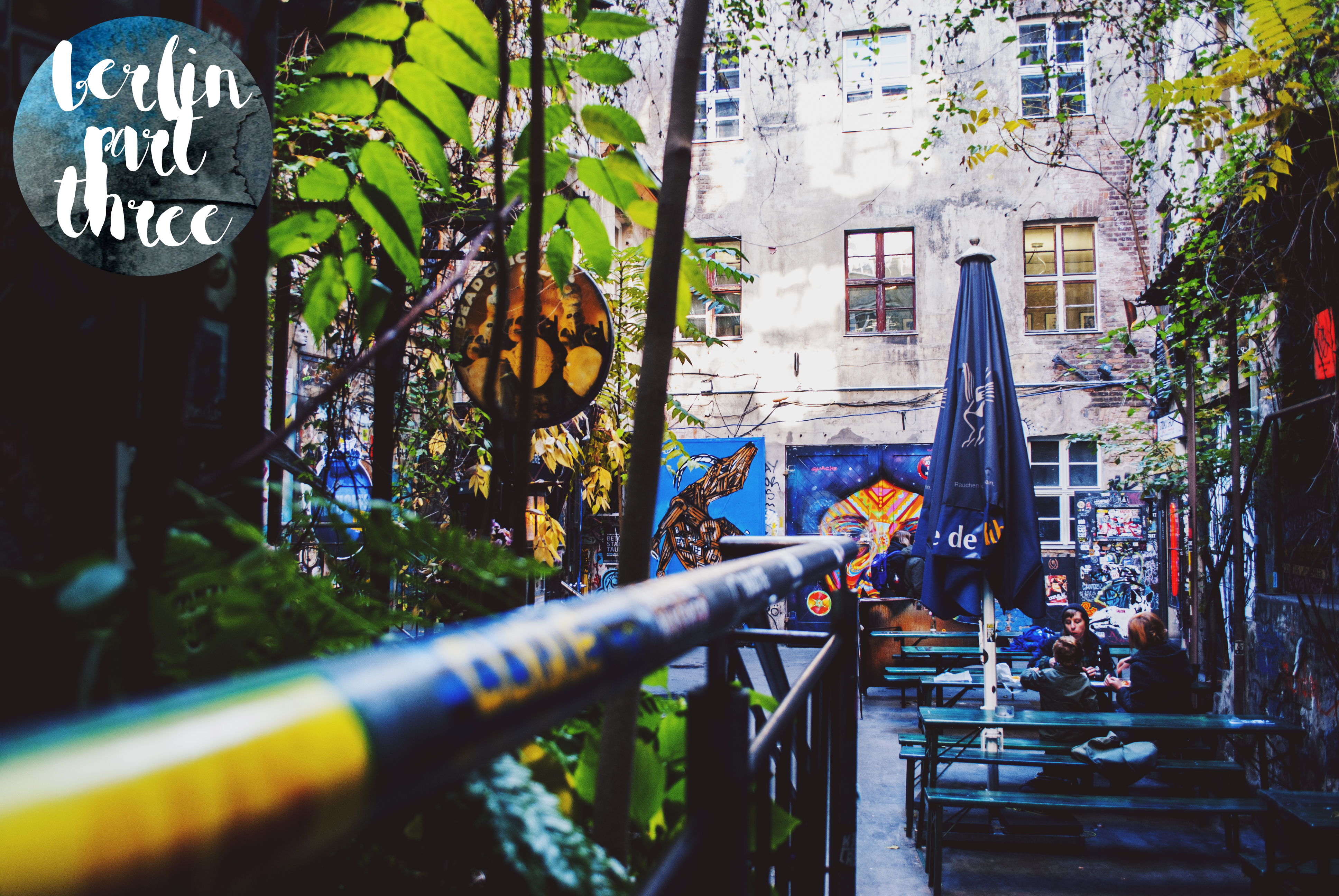 Berlin Travel Diary Cafe Cinema Street Art Alexanderplatz
