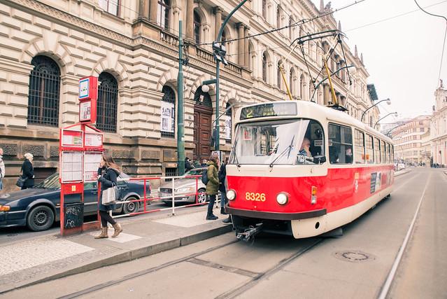 捷克/布拉格–交通指南/布拉格路面電車(TRAM)