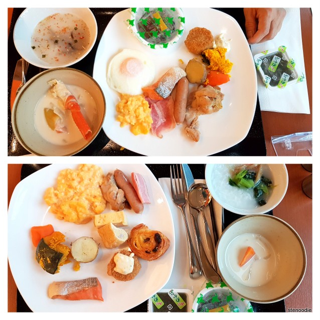 Japanese breakfasts